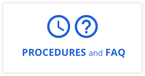 Procedures and FAQ